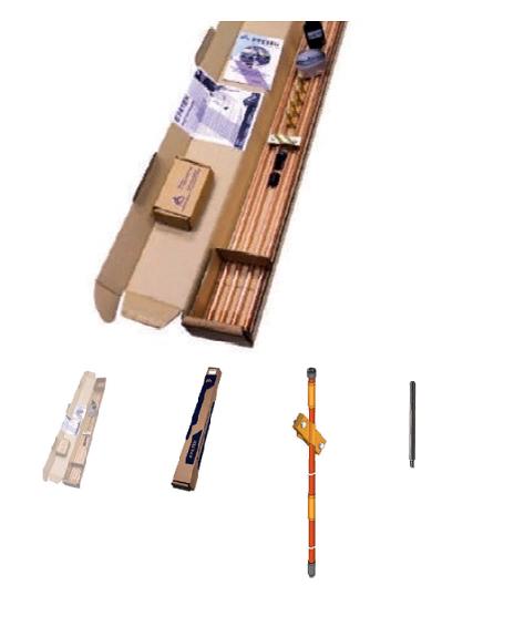 Комплекты модульно-штыревого заземления