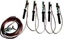 Переносное заземление линейное для ВЛ до 1 кВ (ЗПЛ-1, ПЗУ-1)