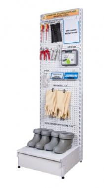 Стенды и шкафы для хранения СИЗ