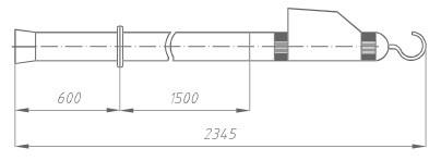 Указатель высокого напряжения УВН-110 Д