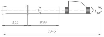 Указатель высокого напряжения УВНУ-110 Д