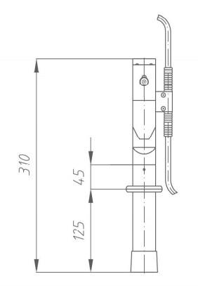 Переносное заземление ЗПЛ-1 Д сеч. 16 мм2