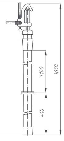 Переносное заземление ЗПЛ-35-3 Д сеч. 50 мм2, 3 штанги
