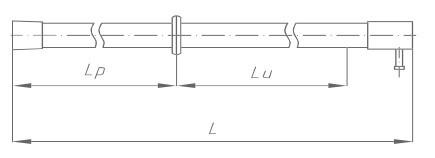 Штанга изолирующая оперативная ШО-110 Д