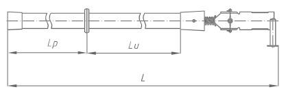 Штанга изолирующая универсальная ШОУ-1 Д