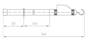 Указатель высокого напряжения УВН-35 Д