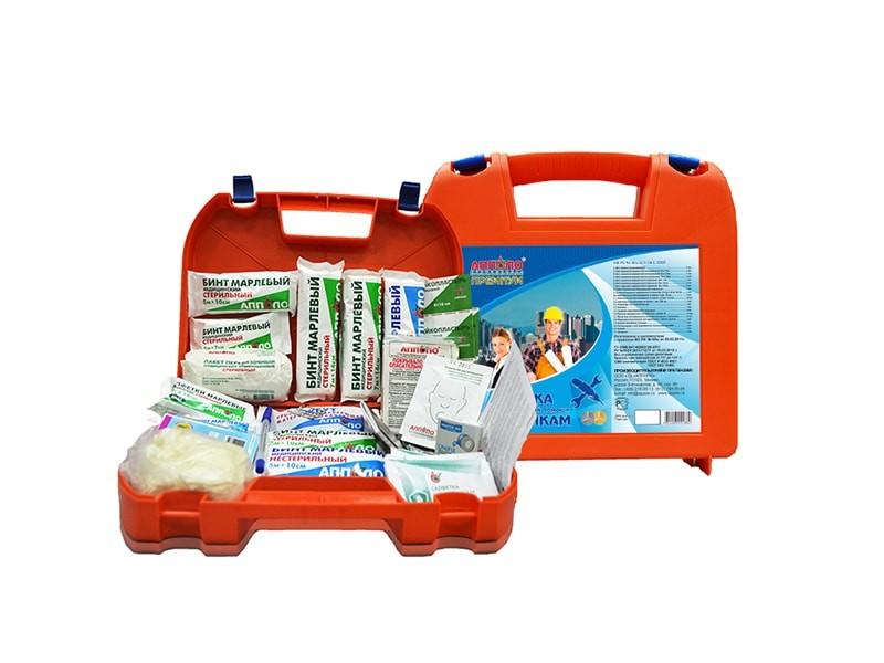 Аптечка первой помощи работникам (в оранжевом пластиковом чемоданчике) по приказу №169н от 05 марта 2011г.