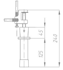 Переносное заземление ПЗРУ-2 Д сеч. 25 мм2