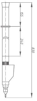 Указатель высокого напряжения УВНУ-10 ДК