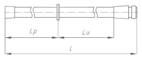 Штанга изолирующая заземления переносного ШЗП-110 Д