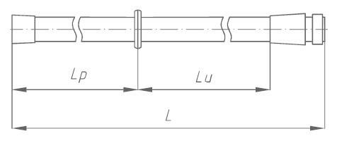 Штанга изолирующая заземления переносного ШЗП-500 Д