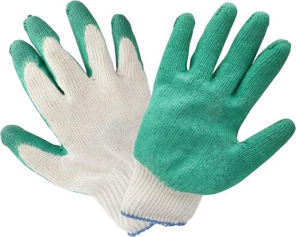 Перчатки механически стойкие одинарный латексный облив