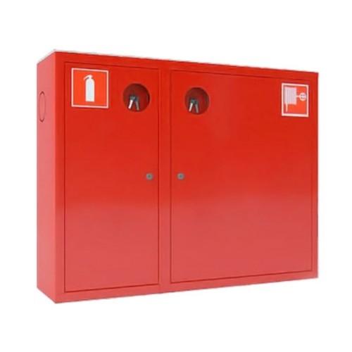 Шкаф для пожарного крана Закр Пр/Лев навесной без окна Место 2 огн.10 кг.