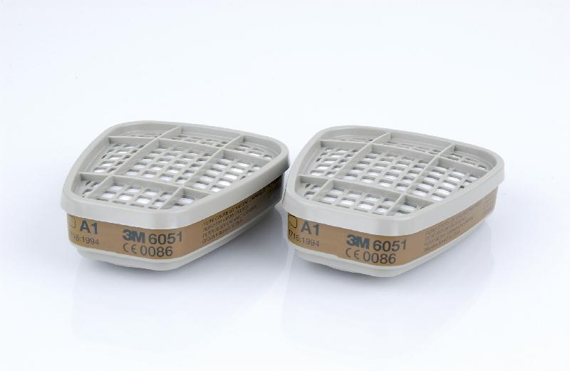 Запасной фильтр к респиратору 3М 6051, противогазовый