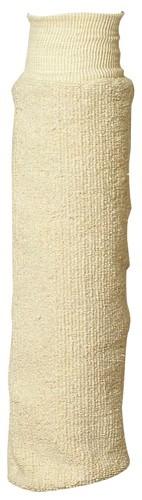 Нарукавник от повышенных температур из ворсистого хлопка, 40 см, манжет трикотажный