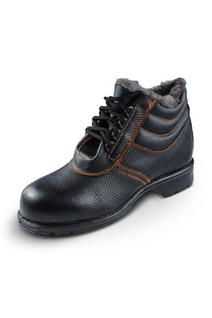Ботинки кожаные с ПП