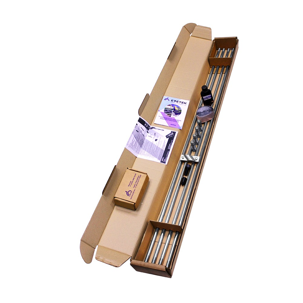 Комплект заземления оцинкованный ZN – 6 (6 м, 16 мм, 4х1500 мм)