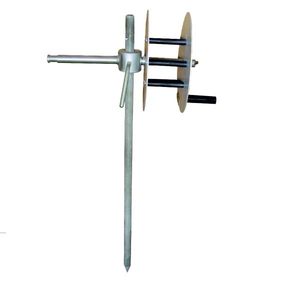 Электрод заземляющий для переносных заземлений ЭЗ-1-МБ, с барабаном