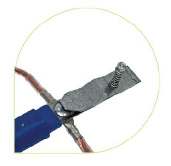 Комплект штанг для заземления воздушных линий с поверхности земли КШЗ-10 Д сеч. 35 мм2