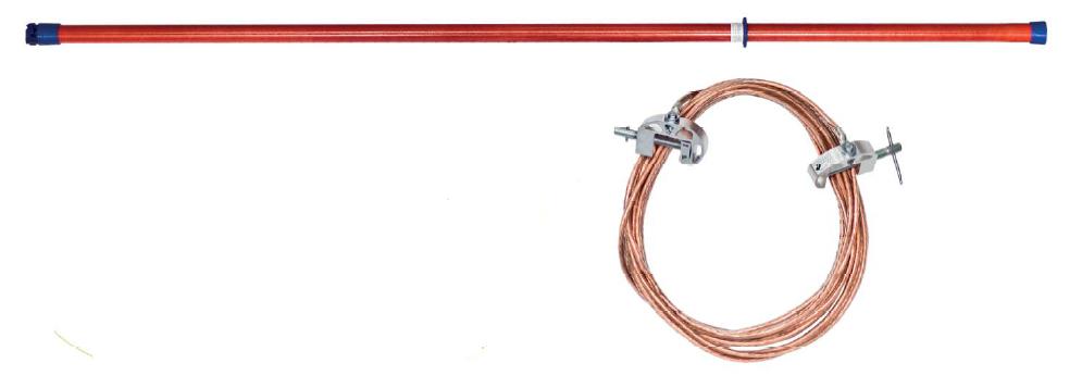 Переносное заземление ЗПЛ-110-1 Д сеч. 35 мм2, 1 штанга