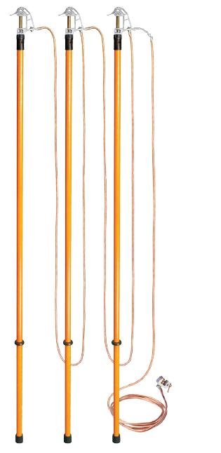 Заземление переносное для воздушных линий ЗПЛ-110 сеч. 25 мм2 (Электроприбор)