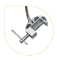 Переносное заземление штанговое ПЗ-330-500 Д сеч. 25 мм2 (пружинный зажим)