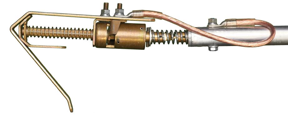 Заземление штанговое с металлическими звеньями ЗПЛШМ-750  сеч. 25 мм2 (Электроприбор)