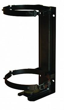 Кронштейн для огнетушителя транспортный КТХ-8 на 2-х металлических хомутах  (d180) для ОП-8/9/10, ОВП-8/10, ОВЭ-9 МИГ (Пожтехника)