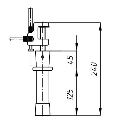 Переносное заземление ПЗРУ-1 Д сеч. 95 мм2