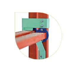 Лестница стеклопластиковая приставная раздвижная ЛСПРД-8,0 Евро