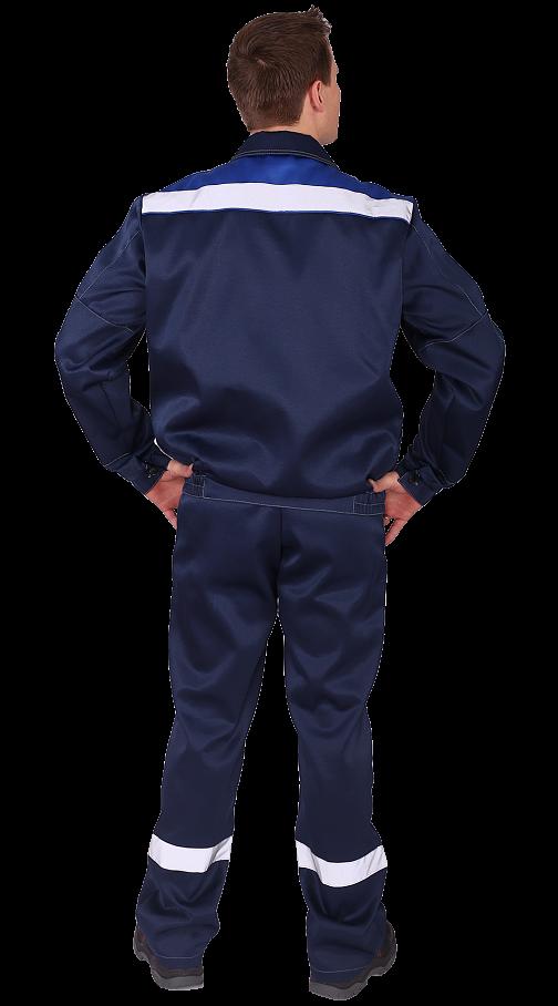 "Костюм ""Чикаго"" с брюками (т.синий/василек) PENTALAB"