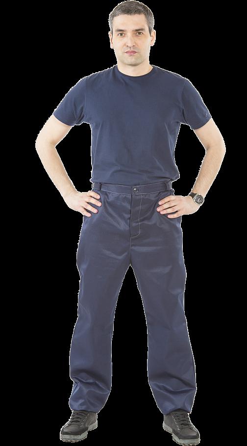 Костюм мужской (т.синий/черный) PENTALAB