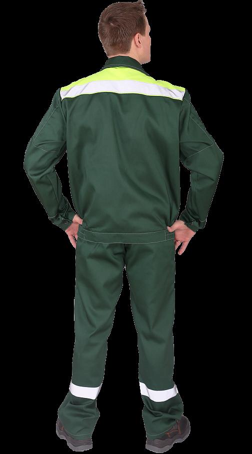 """Костюм """"Чикаго"""" с брюками (т.зеленый/лайм) PENTALAB"""