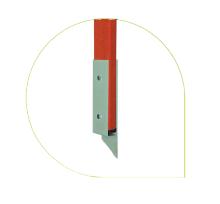 Лестница стеклопластиковая приставная раздвижная ЛСПРД-6,0 Евро