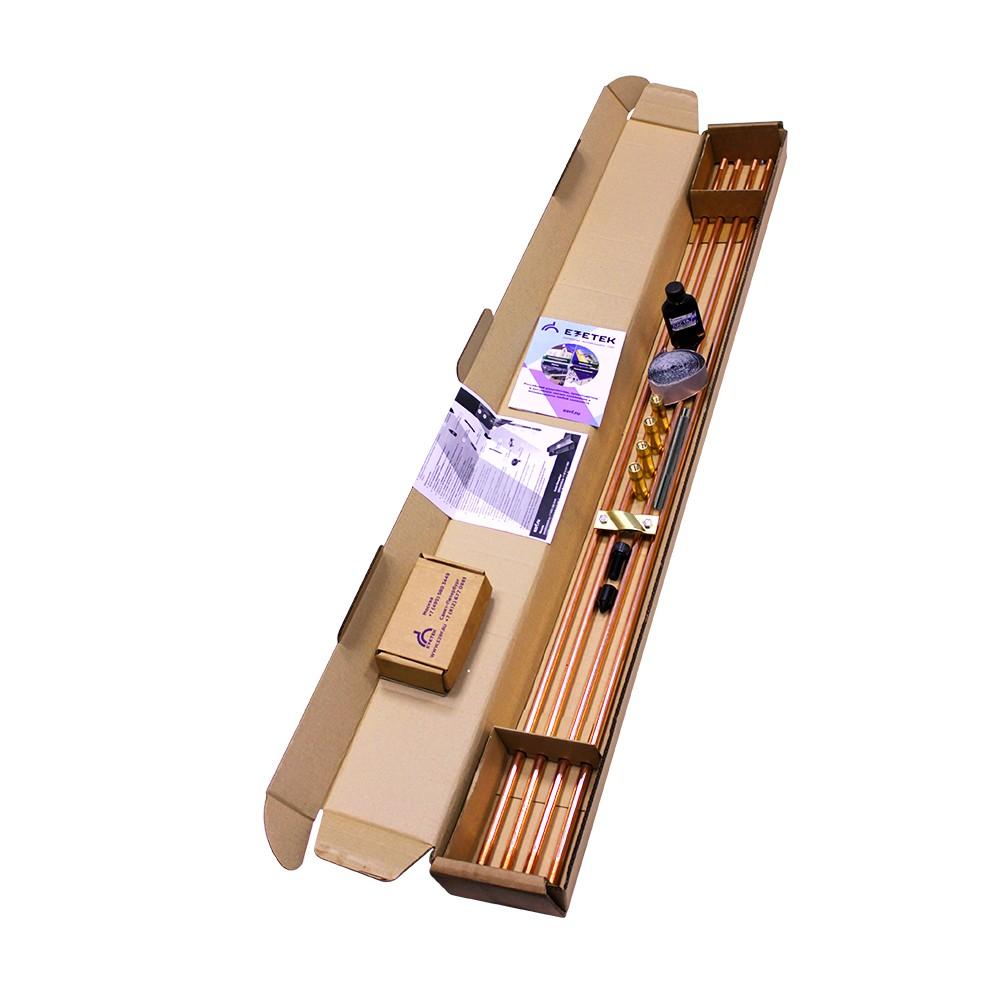 Комплект заземления омедненный EZ – 6 (6 м, 14 мм, 4х1500 мм, насадка SDS-max)
