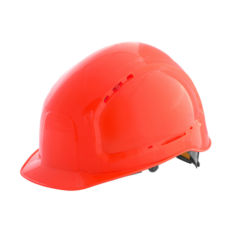 Каска защитная RFI-7 TITAN красная 71516