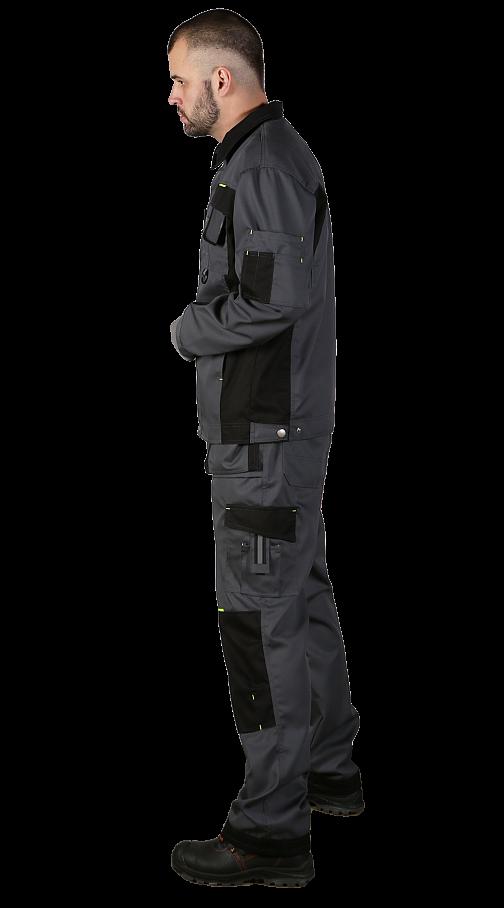 """Костюм """"ZinDER"""" с брюками (т.сер/черн/лайм) PENTALAB"""