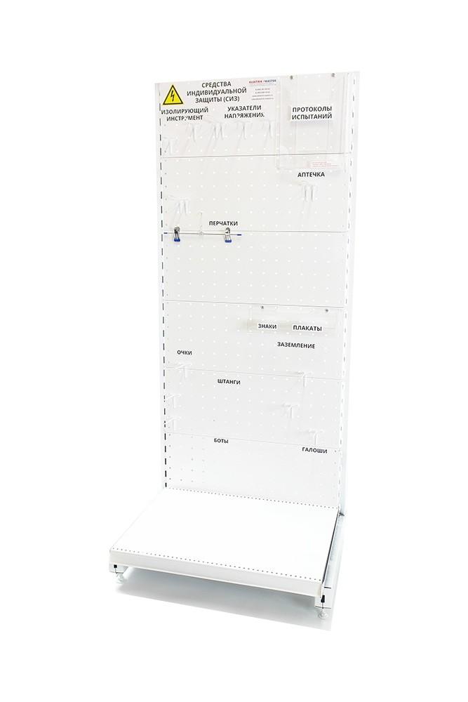 Стенд ELMA108 для хранения СИЗ напольный металлический