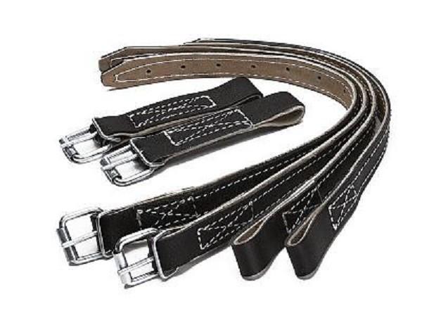 Ремни крепежные кожаные для когтей и лазов