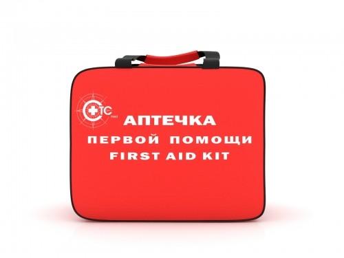 Аптечка для детских и учебных учреждений (пластиковый шкаф, СТС)