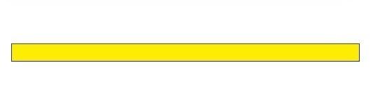 Сигнальная полоса желтая (пленка 1000х50 мм)