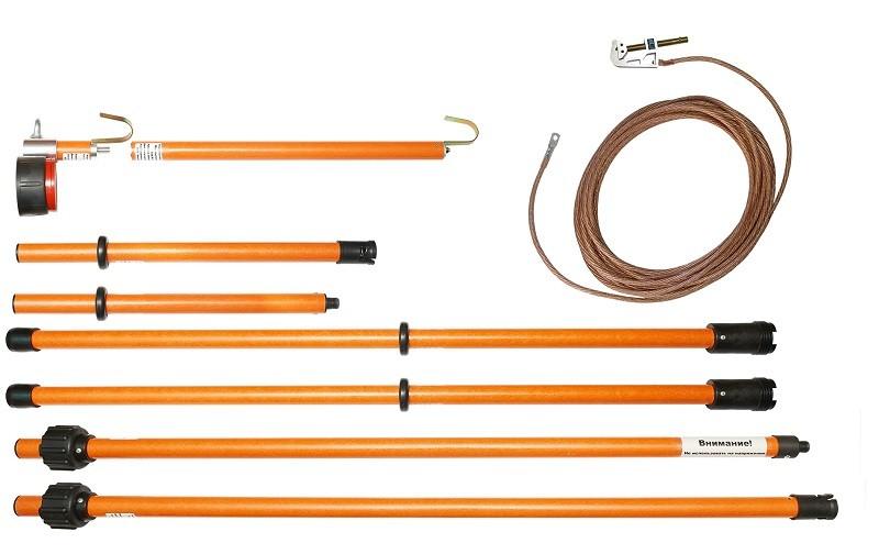 Комплект для измерения наведённого напряжения КНН-35 (Электроприбор)