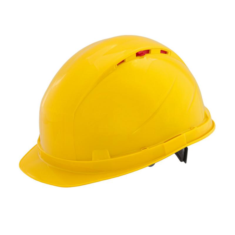Каска защитная RFI-3 BIOT желтая 72515