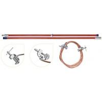 Переносное заземление ЗПЛ-220-1 Д сеч. 95 мм2, 1 штанга