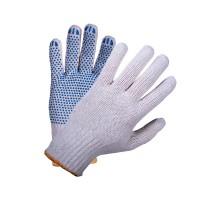 Перчатки защитные Стандарт, 7,5 кл  5-ти нитка ЛАЙТ (точка, волна, протектор)