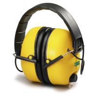 Наушники пассивные MAX 800, электронные, регулировка шумопоглощения, 31 дБ, желтые