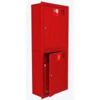 Шкаф для пожарного крана Откр Пр/Лев в стену без окна Место 2 огн.10 кг.