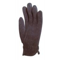 Перчатки  от пониженных температур Флисовые, черные, эластичное запястье