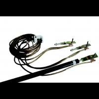 Переносное заземление ЗПЛ-110 сеч. 25 мм2, 1 штанга, с протоколом испытаний