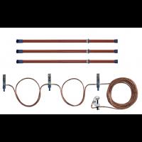 Переносное заземление ЗПЛ-10-3 Д сеч. 70 мм2, 3 штанги